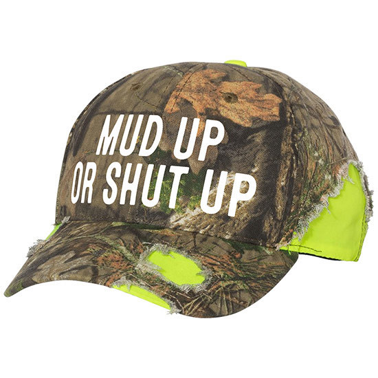 Country Girl® Mud Up - Frayed Camo Cap