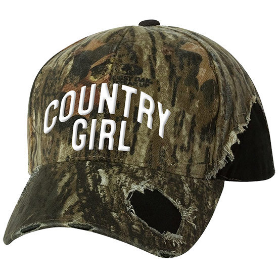 Country Girl® Country Girl - Frayed Camo Cap