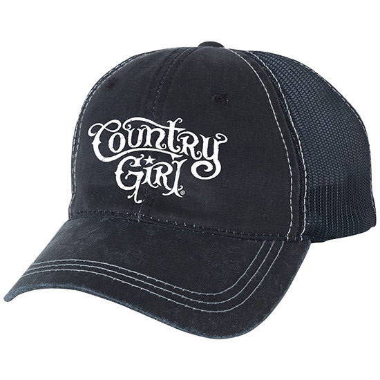Country Girl® CG Logo Navy - Trucker Hat