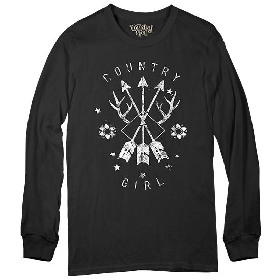 Country Girl® Arrows - Long Sleeve Tee