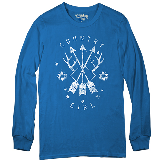 Country Girl® Arrows - Long Sleeve Tee