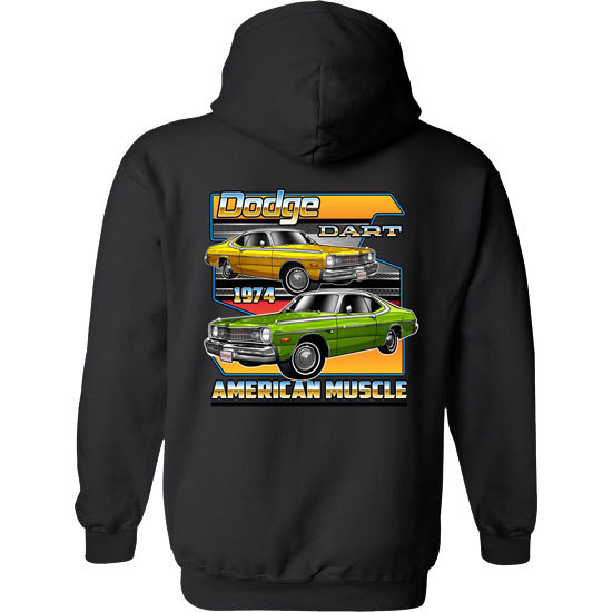 Country Boy® Dodge Dart - Relaxed Pullover Hoodie
