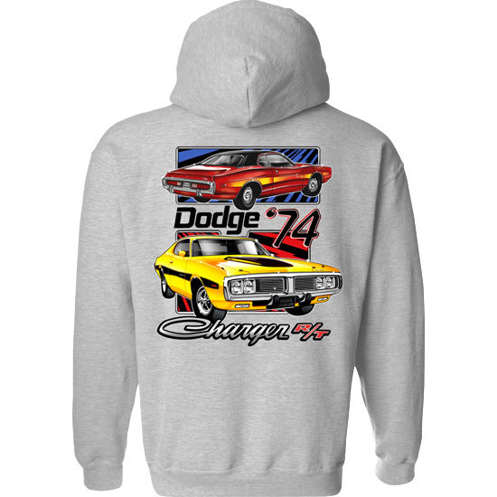 Country Boy® Dodge Vintage Chargers - Relaxed Pullover Hoodie