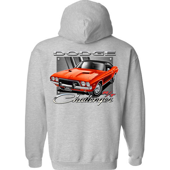 Country Boy® Dodge Red Challenger - Relaxed Pullover Hoodie