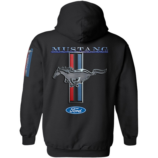 Country Boy® Ford Mustang w/Sleeve Print - Relaxed Pullover Hoodie
