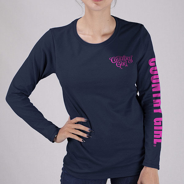 Country Girl® Sleeve Logo - Long Sleeve Tee